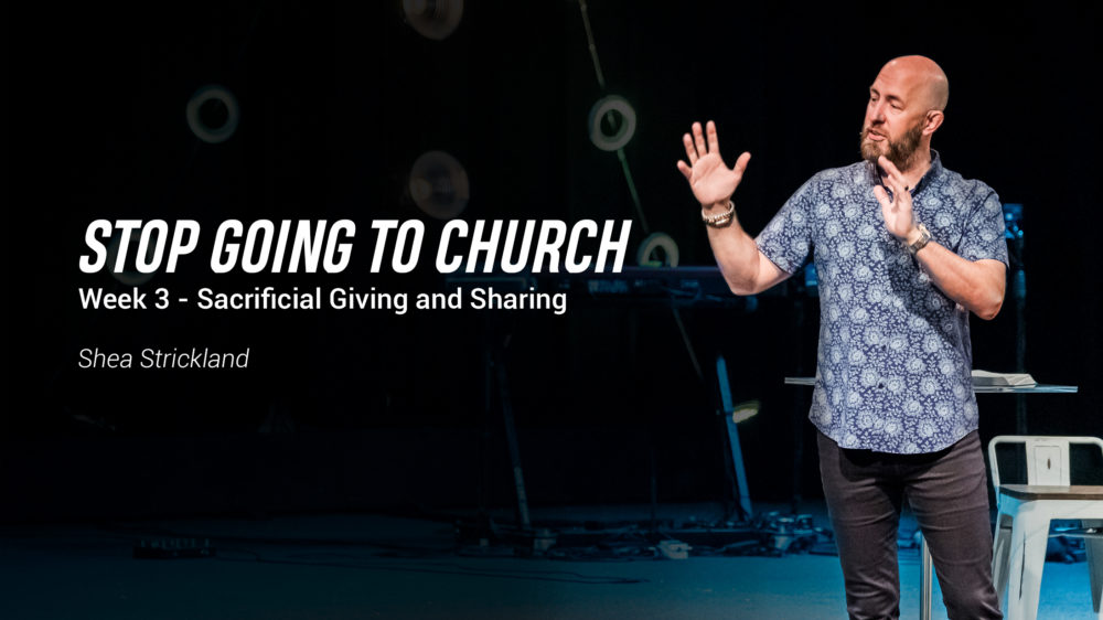 Sacrificial Giving and Sharing Image