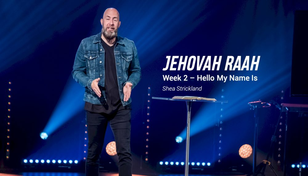 Jehovah Raah Image