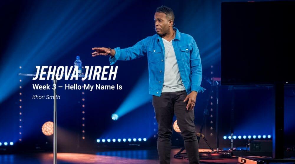 Jehovah Jireh Image